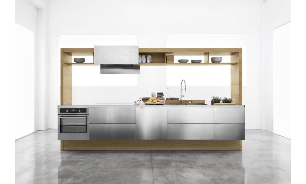 Cucine moderne su misura in legno Varese